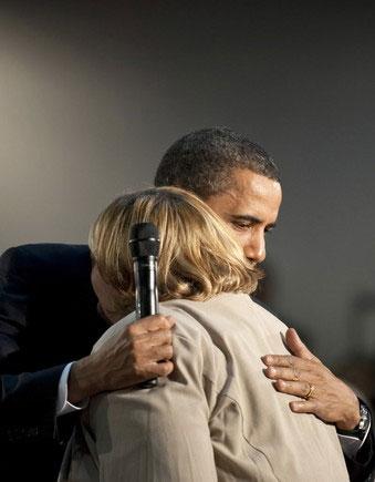 Debbie and obama