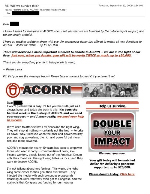 ACORN - will we survive 2