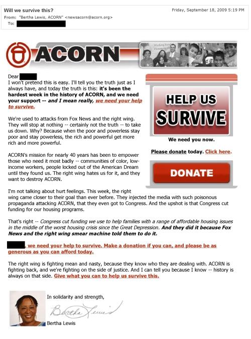 acorn - will we survive