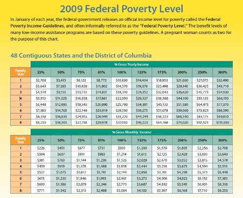 Poverty Level - 2009