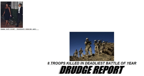 drudge front page