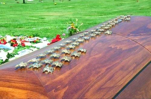 Mike Monsoor coffin